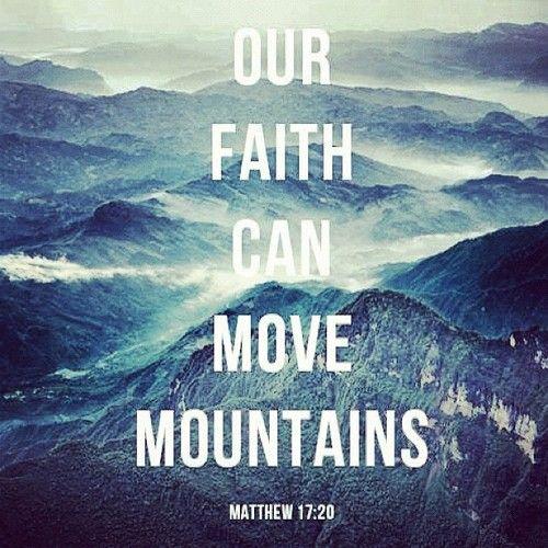 Bible Verses About Faith | Bible Verses About Faith Tumblr #faith #movesmountains #god