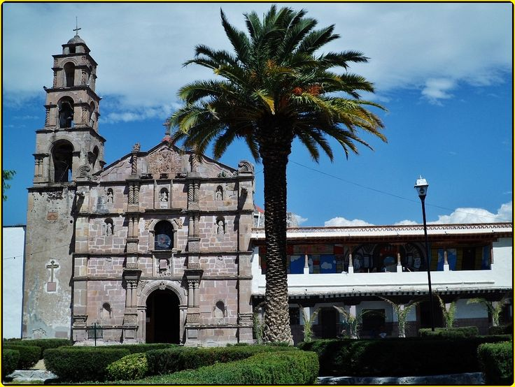 Parroquia San Jerónimo Aculco. México.