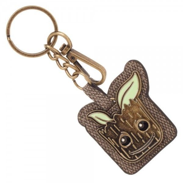 Baby Groot Keychain Guardians of the Galaxy Mixed Material Key Chain Ring Clip
