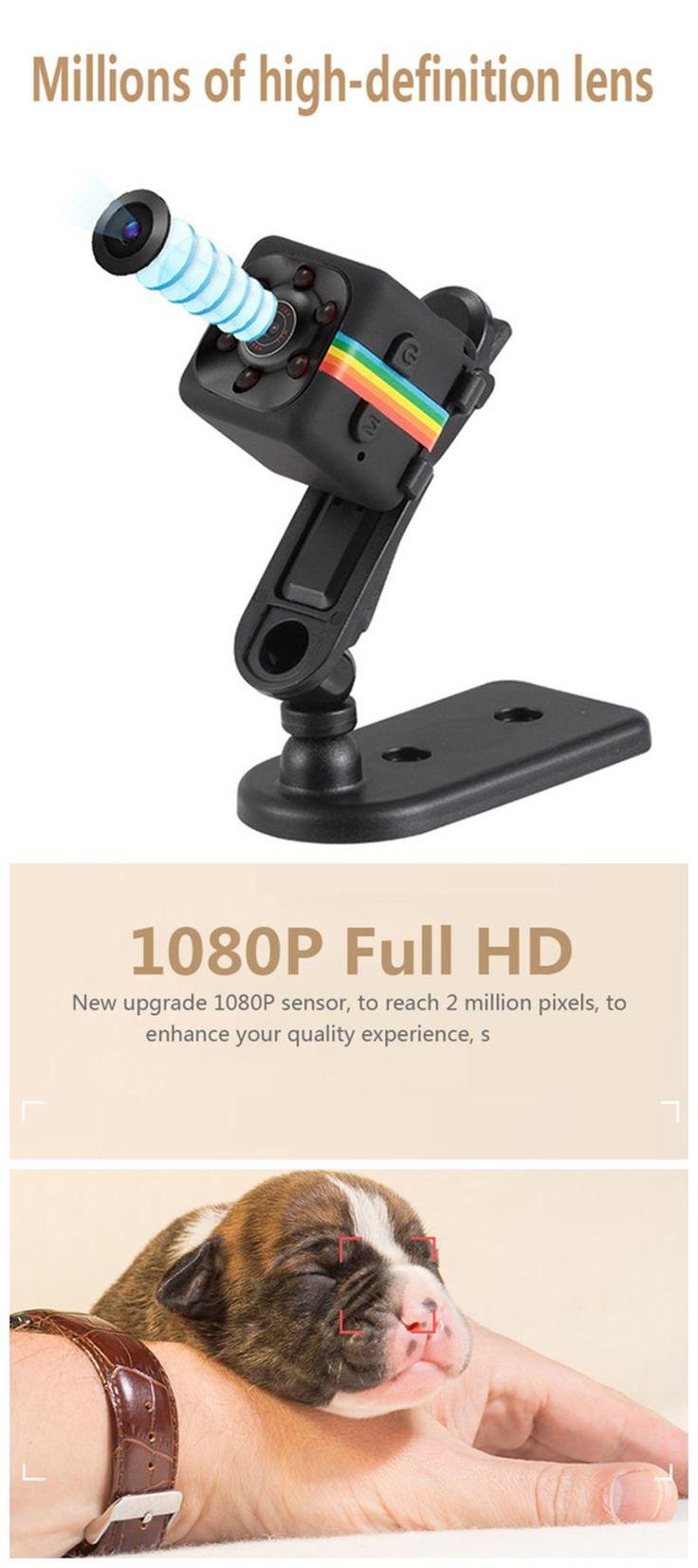 Original Mini Camera SQ11 HD Camcorder HD Night Vision 1080P Sports Mini DV Video Recorder