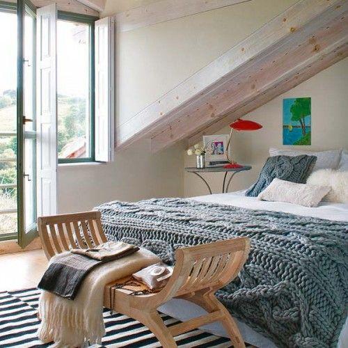 camera da letto mansardata 3