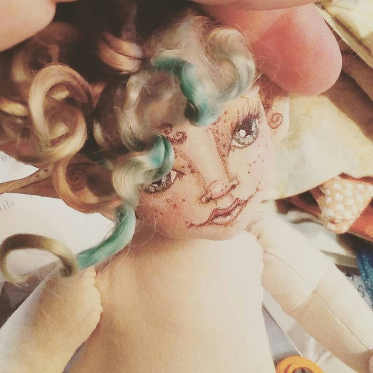 ....making baby faeries in the studio today....