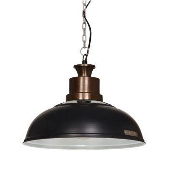 VERDA 36cm lampa wisząca Slate Grey loft light