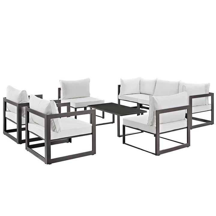 Patio Sofa Set, Modway Outdoor Furniture