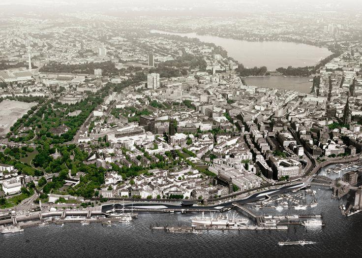 Hamburg River Promenade - Architecture - Zaha Hadid Architects