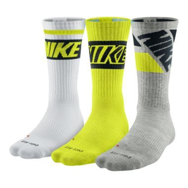 Nike® 3-pk. Dri-FIT Crew Socks – Big & Tall  found at @JCPenney