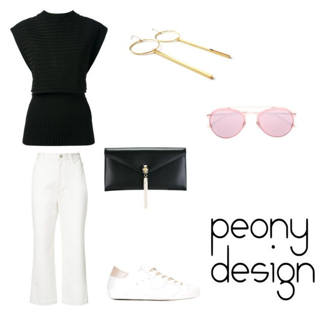 Peony Design by teri-peony on Polyvore featuring Erika Cavallini Semi-Couture, TIBI, Philippe Model, Bulgari and Dita