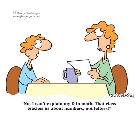 funny math cartoons | Randy Glasbergen - Glasbergen Cartoon Service