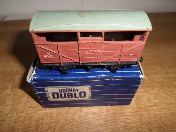 Hornby Dublo 00 Gauge Tinplate D1 B.R Horse Box by RoseCollectable on Etsy