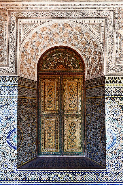 Morocco  Patterned walls