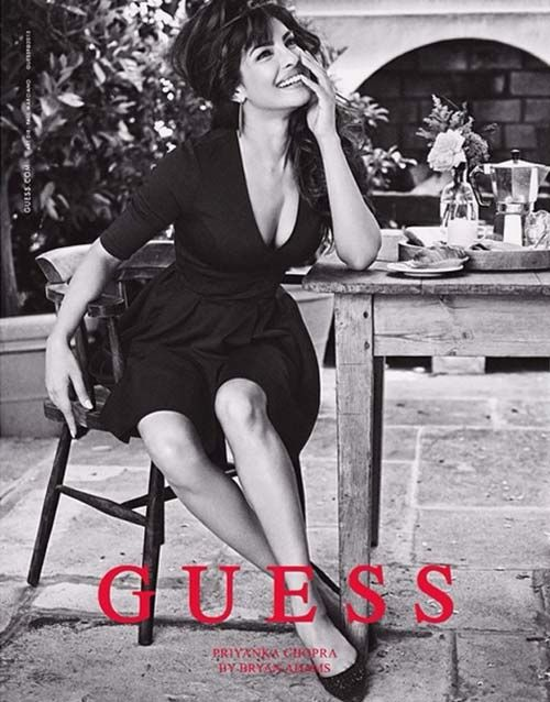 Priyanka Chopra becomes first Indian face to be the brand ambassador of 'Guess'