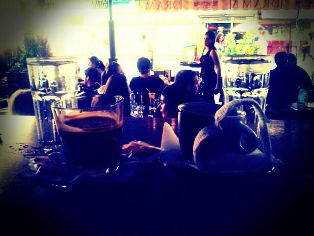 Coffee cuple...hot.