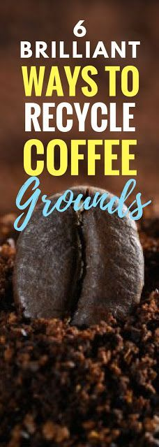 Fantastic ways to recycle and use coffee grounds in your home or garden! Especially the diy soap and sink disposal. LOVE THIS.
