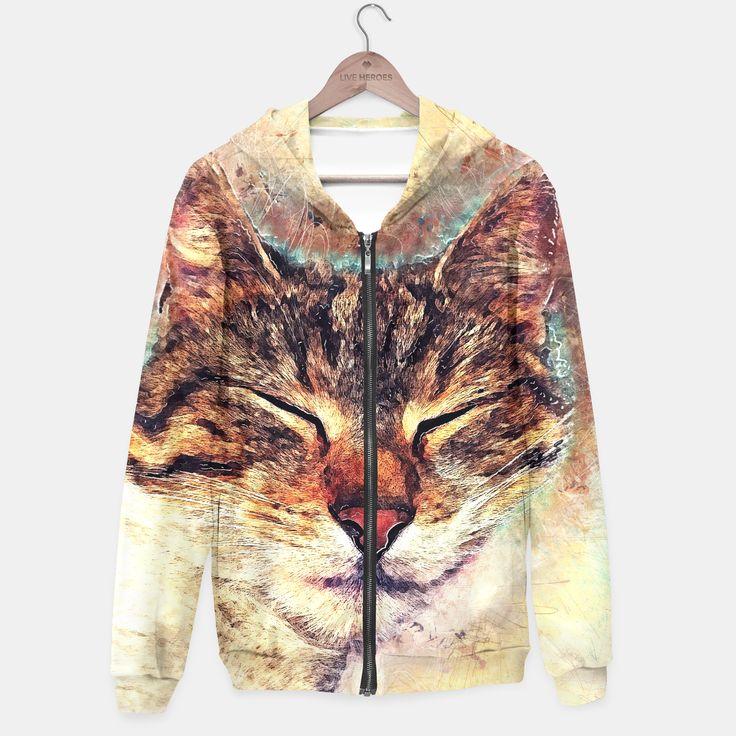 Cat Saba hoodie, Live Heroes