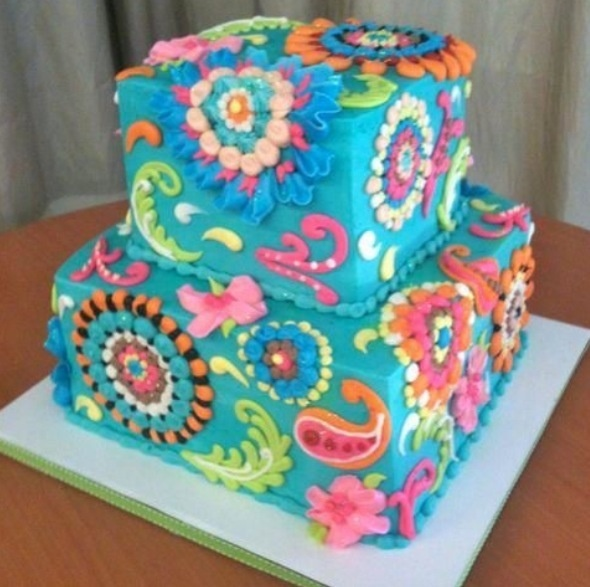 Paisley Cake!