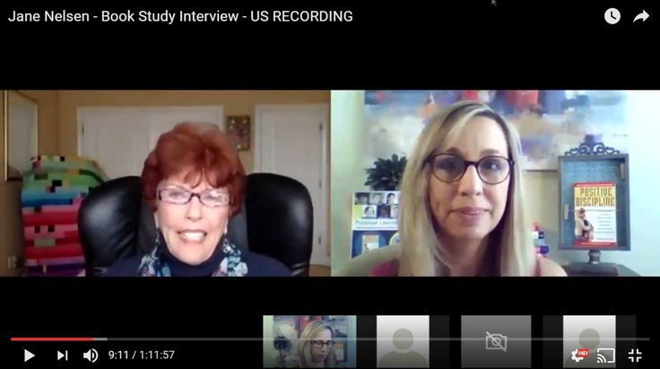 """It was a wonderful experience to interview Jane Nelsen, author of Positive Discipline for the """"Positive Discipline Book Study & Interview Series."""""""