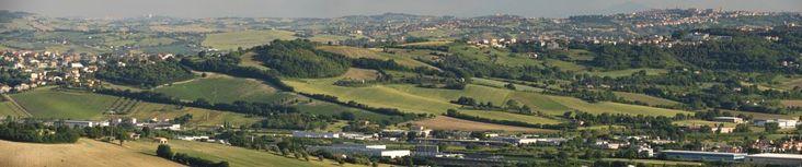 Camerano, Marche, Italy -The Marche hills1 - stitch HD by Gianni Del Bufalo CC BY-NC-SASTA_7695-00stitch - Colline marchigiane viste da Camerano
