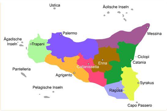 Region Sizilien
