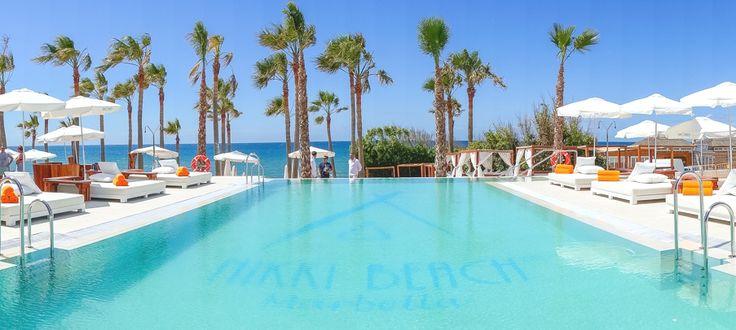 Nikki Beach, Marbella. Visit www.beachandbubbles.com for worlwide beaches, clubs & events