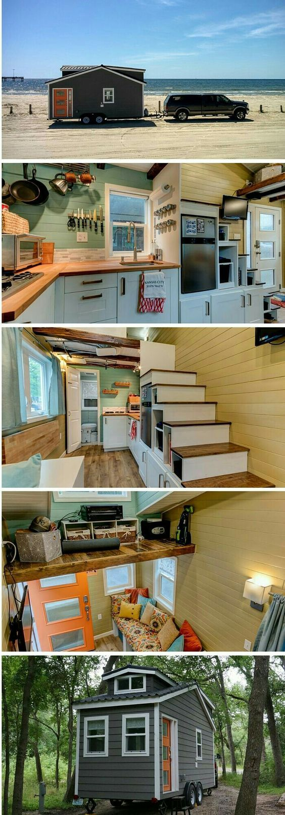 162 best Tiny houses images on Pinterest | Small houses, Tiny ...