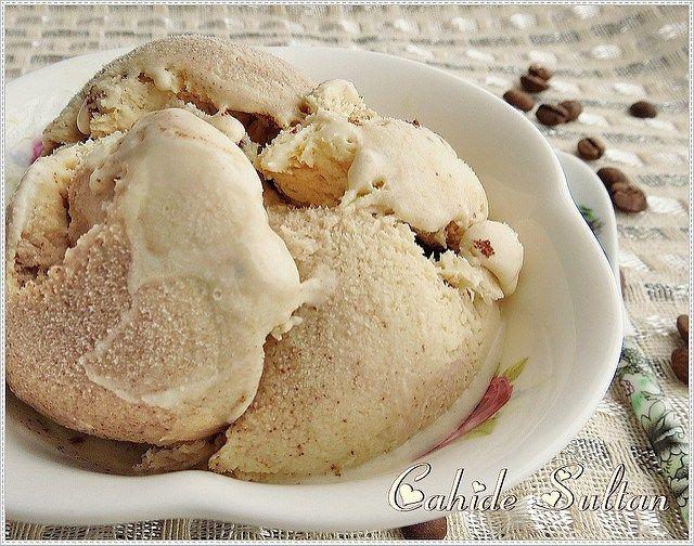kahveli dondurma