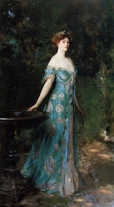 Millicent, Duchess of Sutherland 1904. Джон Сингер Сарджент