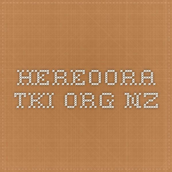 hereoora.tki.org.nz #Maori