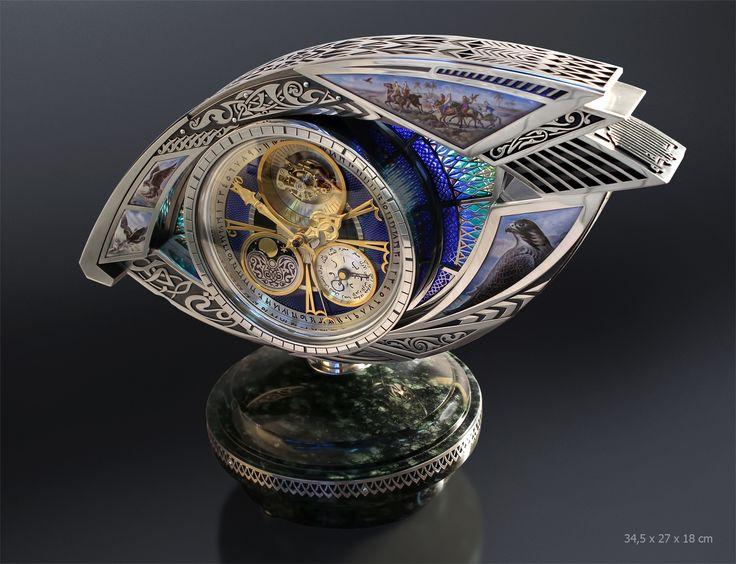 """Clocks """" Falconry"""""""