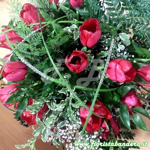 Bouquet di tulipani.
