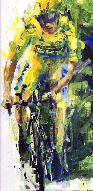 PAINTING LE TOUR: Frooome