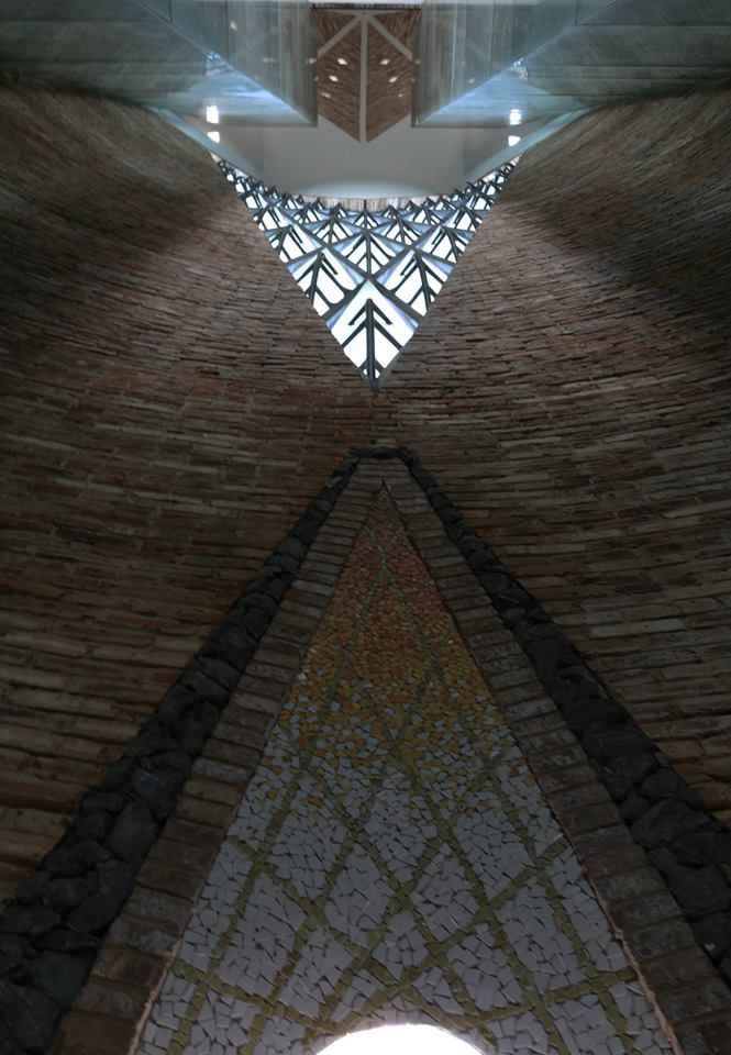 Tower interior- Architecture van Brandenburg