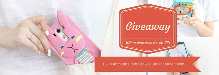 Giveaway! Win this Cute Case for LG G3!