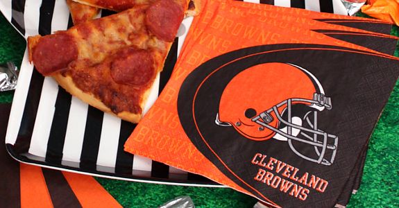 NFL Cleveland Browns Party Supplies at Birthday Direct