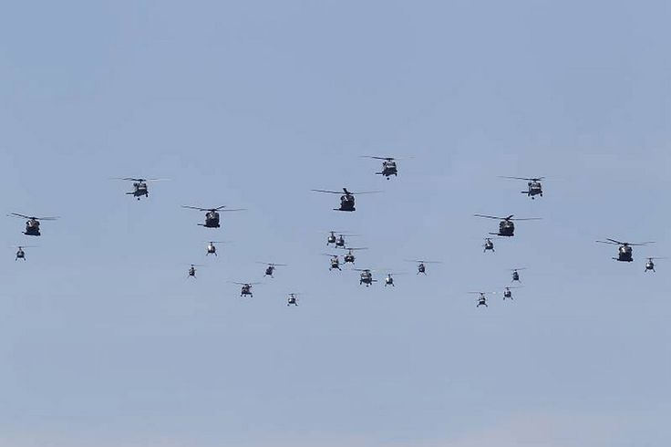 Salute to Navy flypast.