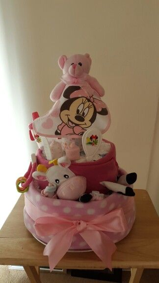 My handmade nappy cake for a friend