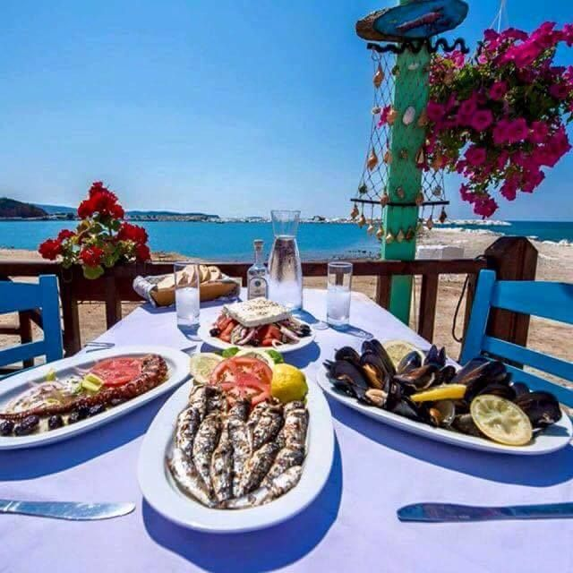 Everything tastes better in Greece