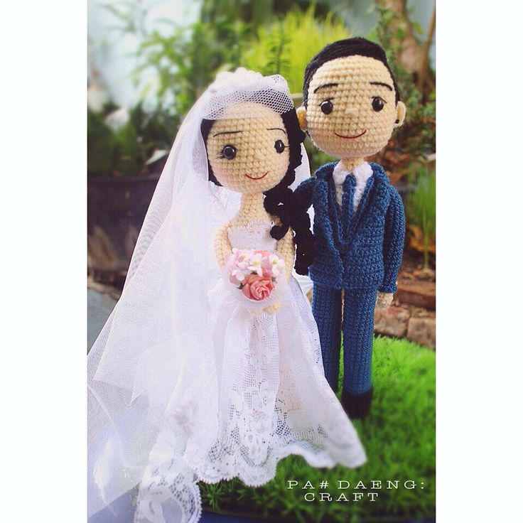 Wedding Crochetdoll