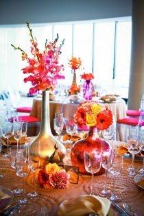 Moroccan themed weddingReceptions Tables, Tabletop Decor, Flower Centerpieces, Floral Design, Colors Decor, Events Design, Tables Arrangements, Wedding Centerpieces, Moroccan Inspiration
