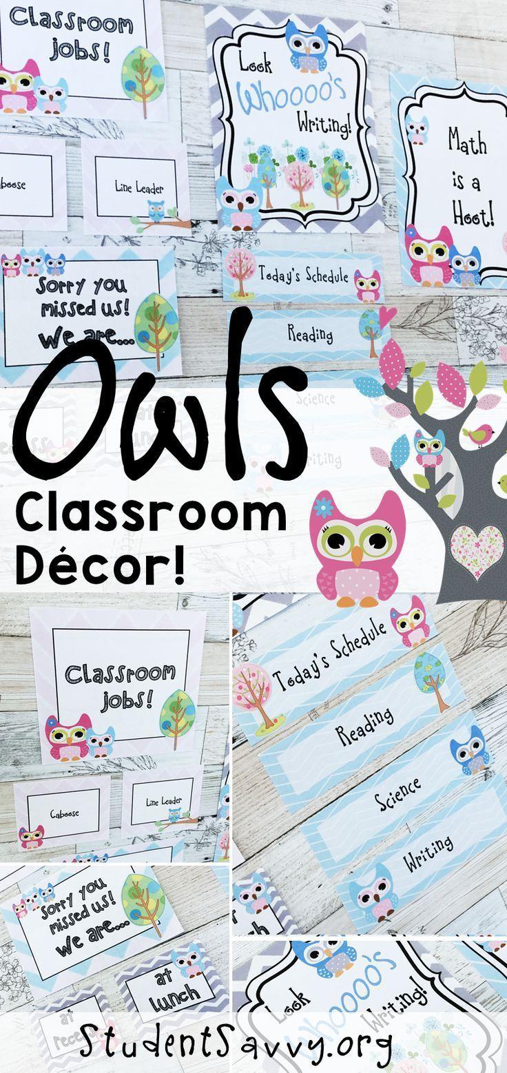 The 25 best Owl classroom ideas on Pinterest Owl classroom