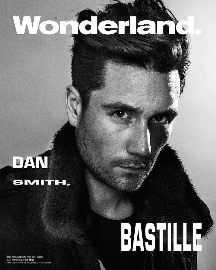 Dan Smith wears Fendi on the cover of Wonderland; apologizes for scowling at us via Twitter