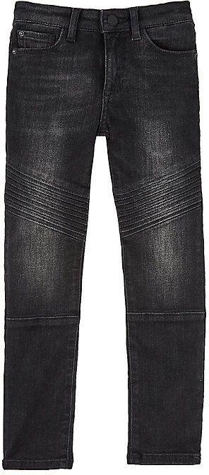 DL 1961 Chloe Cotton-Blend Moto Jeans