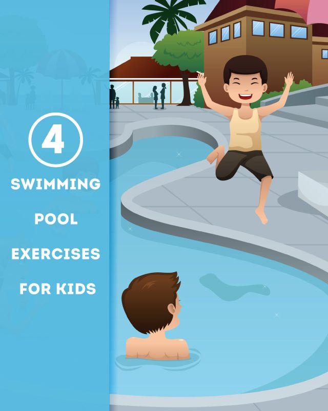 Swimming Pool Exercises For Kids Kid Other And Swimming Pool Exercises