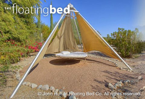 Outdoor Hanging Bed, Hammock bed For Sale |  The Floating Bed Co