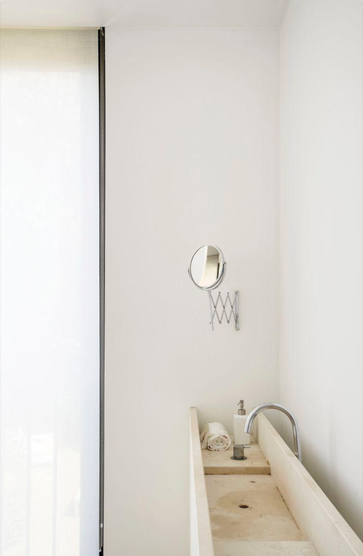Minimalist bathroom sink