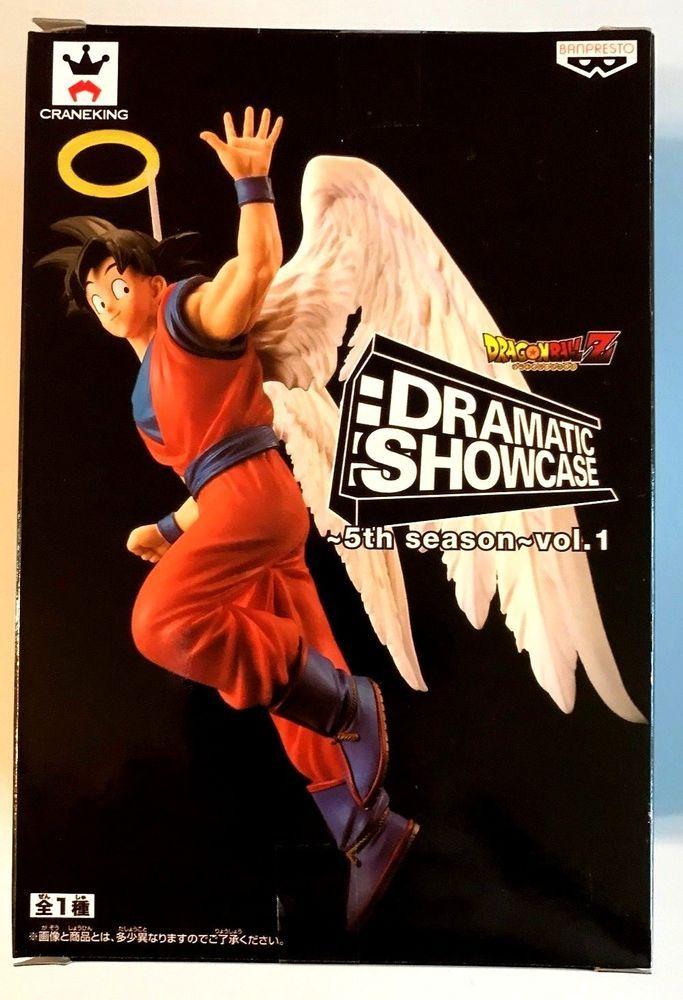 Dragon Ball Z Dramatic Showcase 5th Season Vol 1 Son Goku Angel Figure