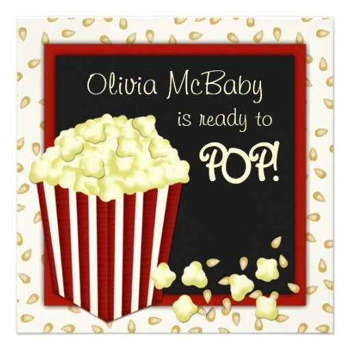 popcorn baby showers on pinterest baby shower party favors baby