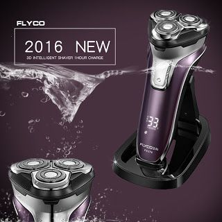 Flyco 3D floating head Rechargeable Portable body washable Electric Shaver Led Light Fast Charge Triple Blade barbeador FS376 (32694568763)  SEE MORE  #SuperDeals