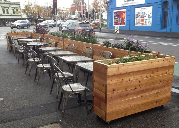 Lovely Image Result For Restaurant External Barrier Design