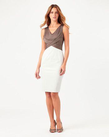 Phase Eight Hattie Dress Neutral