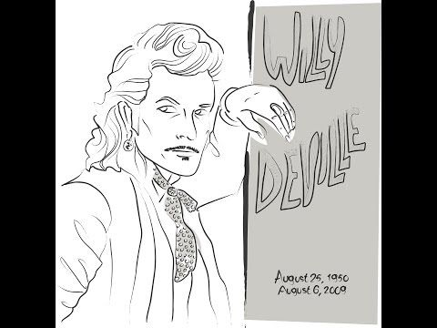 Willy DeVille - The ballad of Billy The Kid (Italy 1993) - YouTube